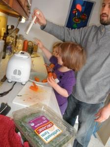 Cute juicing helpers