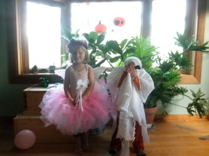 Fairy and ghost