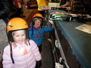 First ski day!